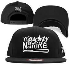 Naughty By Nature Baseball Bat Logo Hip Hop Rap Music New Era Snapback Cap Hat