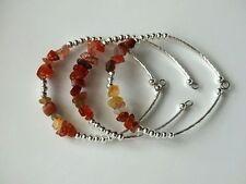 Agate Cuff Stone Costume Bracelets