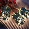 Batterie LED Eule Lichterketten Girlande Weihnachtsbeleuchtung Dekoration Fairy