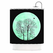 Kess InHouse PERCH by Micah Sager Shower Curtain, Quality Fabric, Gorgeous!!