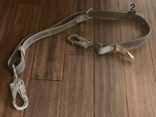 6' Buckingham Utility Pole Tree Positioning Climbing Safety Belt 99E Locker Hook