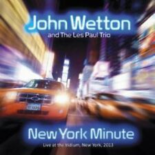 John Wetton And The Les Paul Trio - New York Minute [CD]