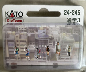School Children and teacher N Gauge (scale 1:150) - KATO - New - UK Seller