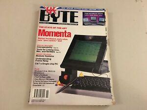 VINTAGE BYTE COMPUTER MAGAZINE NOVEMBER 1991 VOL.16 NO.12