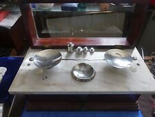 Antique Scale Henry Troemner Apothacary Serial No W2 Type 17 NYC APPD Scale