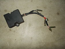 1990 Kawasaki KX125 Black CDI Ignition Black Box Module