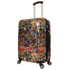 Marvel MAR019 Avengers Comic Print Medium 4 Wheel Hardside Suitcase