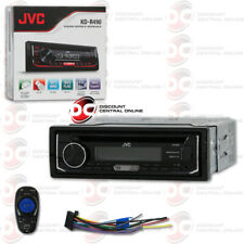 JVC KD-R490 SINGLE DIN CAR AUDIO STEREO CD MP3 RECEIVER WITH AUX & USB INPUT
