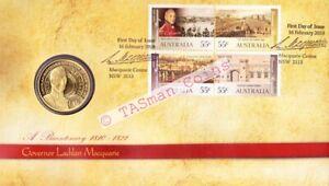 PNC Australia 2010 Governor Lachlan Macquarie Bicentenary RAM $1 Coin L/E 15000