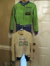 RACE USED NIC JONSSON DRIVER SUIT WITH UNDER SHIRT ROLEX GRAND AM KROHN RACING