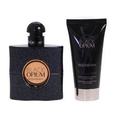 Yves Saint Laurent Black Opium 50ml Eau De Parfum & YSL Body Lotion Travel Set