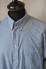 "Ben Sherman blue shirt size large 42"" casual mod skin"