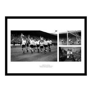 Tottenham Hotspur 1961 FA Cup Final Team Photo Montage Memorabilia (THMU61)