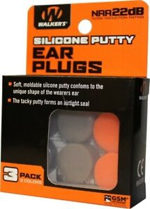 Walker's GWP-SILPLG-OFDE SILICON PLUGS - ORANGE AND FLAT DARK EARTH