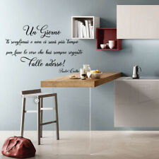 wall stickers frase adesivi frasi murali vita life paulo coelho citazioni a0611