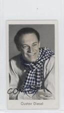 1934 Caid Beruhmter Filmkunstler Tobacco Base #250 Gustav Diessl Card 1s8