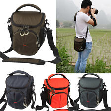 Men Women Compact Camera Bag Dslr Lens Shoulder Bag Messenger Bag Case Pouch New