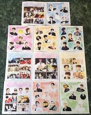 SHINEE Korean Kpop Music Photo Sticker Lot~Onew~Taemin~Jonghyun~Key~Kibum~Minho