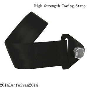 Heavy Duty High Strength Nylon Front Rear Bumper Hook Racing Towing Strap Rope