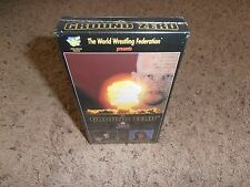 IN YOUR HOUSE GROUND ZERO 1997 wwf vhs BRAND NEW FACTORY SEALED