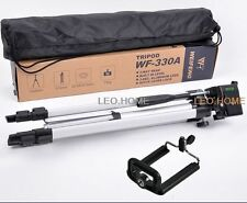 Brand New light Universal 135CM Camera Tripod weifeng 330A + Phone clip
