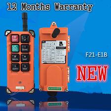 F21-E1B Single Emitter Hoist Crane Radio Wireless Remote Control DC 12V #D297e