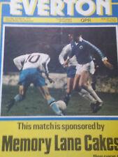 Everton v Queens Park Rangers, 1978-79