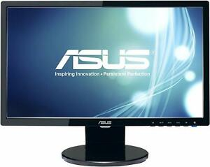 """Asus VE198T 19"""" Widescreen LED Monitor-Built-in Speakers - Monitor Only"""
