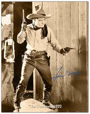 "TOM MIX SCREEN LEGEND Movie Star Icon Photograph Autograph 8"" x 10"" RP"