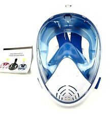 Full Face Snorkel Anti-fog Small/Medium Blue