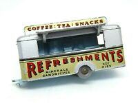 Matchbox Lesney No.74a Mobile Refreshments Canteen (RARE PALE BLUE BASE)