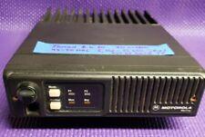 Motorola Maxtrac Low Band 60 Watt 2 Channel Mobile Radio 42-50 Mhz Tuned Tested