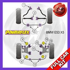 BMW E53 X5 (1999-2006)  Powerflex Complete Bush Kit