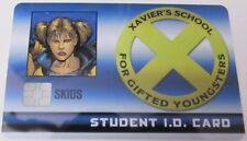 SKIDS STUDENT ID CARD XID-005 X-Men Xavier's School Marvel HeroClix