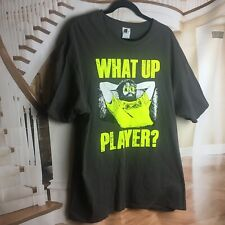 "Hangover Part 3 The Movie Alan Men's T-Shirt Black ""What up Player?"" Size XL"