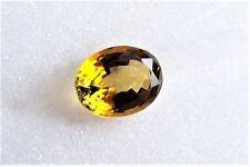 Turmalin  gelb  gold  oval  9 x 7 x 4,5  mm   1,85 Carat