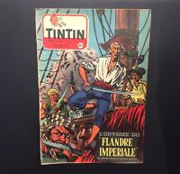Journal Tintin n°242 de 1953 Éd Francaise sans point Tintin.