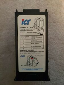 ICT A6 Bill Acceptor Stacker Arcade Game Used