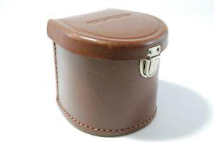 Voigtländer leather case for Voitgländer lenses Leder Köcher Ref. 422022