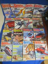 Lot of 16 Popular Mechanics Magazines 1981 1983 1984 1986 1989 1990 1993 & 1994