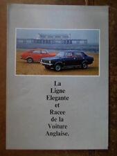 MORRIS MARINA RANGE orig 1971 French Mkt Sales Brochure - BL 2867