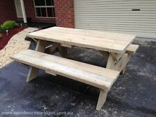 Picnic Table (CUSTOM MADE) (to make in kids size)