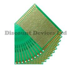 10x 70x90mm FR4 Single Side Copper Prototype PCB Matrix Board Epoxy Glass Fibre