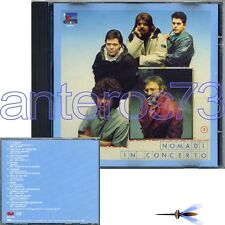 "NOMADI ""IN CONCERTO VOL.2"" RARO CD 1a STAMPA 1988 MADE IN SWITZERLAND"