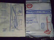 Royal Type A Bottom Fill DVC Vacuum Bags Qty15 New