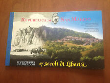 2000 SAN MARINO 20 FRANCOBOLLI + 1 CARTOLINA 17 SECOLI DI LIBERTA'