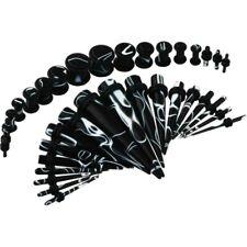 Kit Ear Plug Tunnel Acrylic 36er Set Expander Taper Stud Stretcher