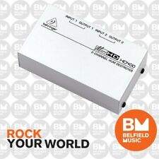 Behringer MicroHD HD400 Hum Destroyer Micro HD HD-400 - Brand New-Belfield Music