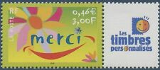 """FRANCE 2001 N°3433**  PERSONNALISE avec logo """"Les timbres personnalisés"""" TTB"""