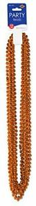 Party Beads - Small Round (orange) (12/Card)